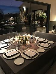 Diner privé à l'Atelier Pic