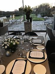 Diner privé d'hiver à l'Atelier Pic